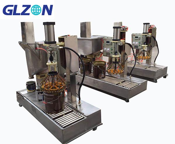 化工溶剂灌装胶水自动灌装机
