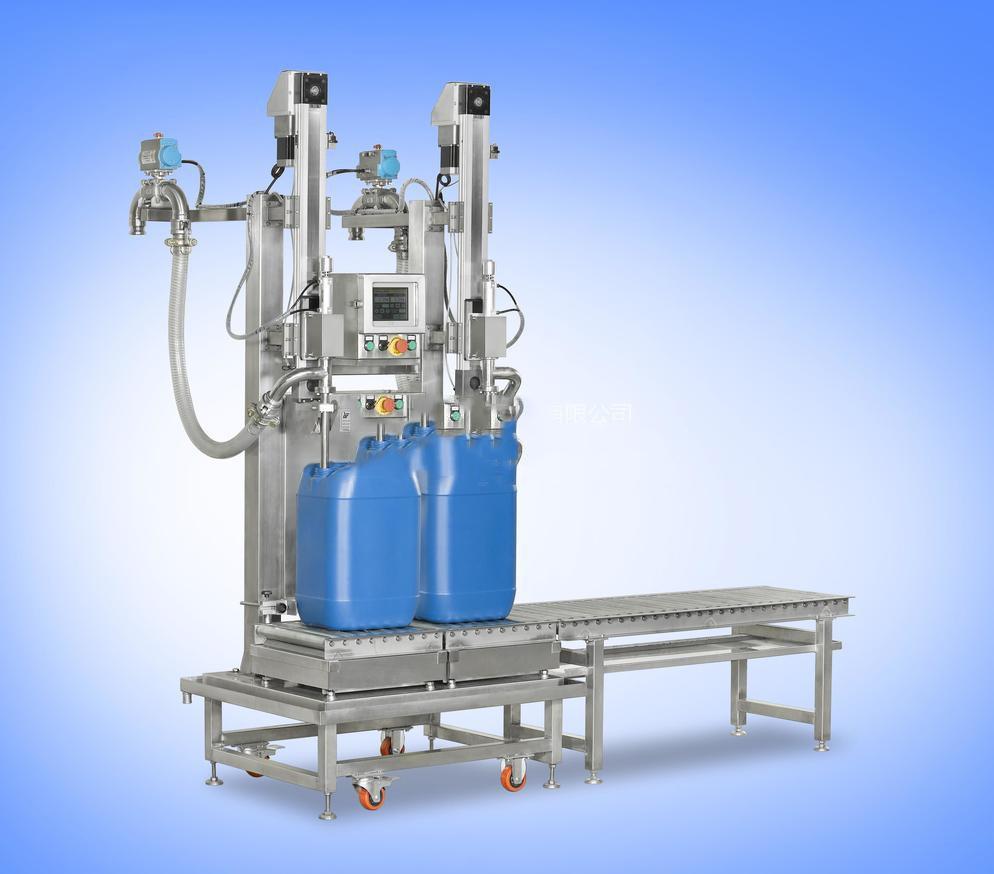 方桶液面下化工树脂灌装机